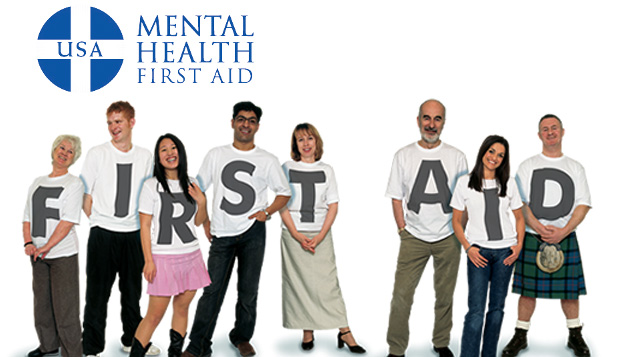 Mental Health First Aid home people