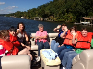 Arc of Stanly Advisory Board Committee Boat Ride