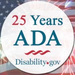 Disabilitygov ADA25Icon1