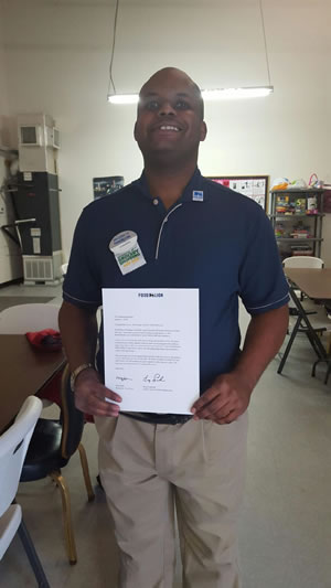 Channing Skinner Recognized For His Decade Long Tenure At Food Lion